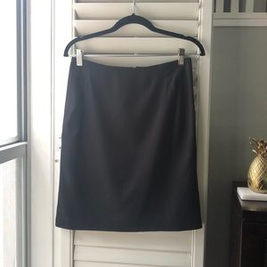 Banana Republic, classic black skirt